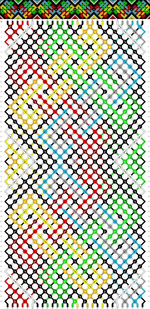 Схема фенечки 35183