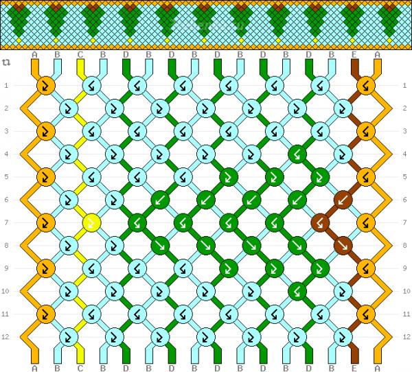 Схема фенечки 35187