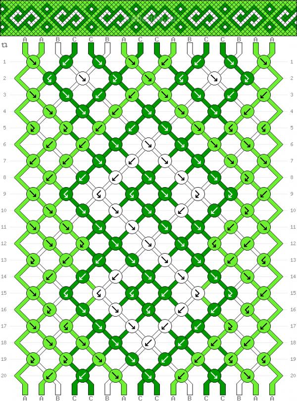 Схема фенечки 35191