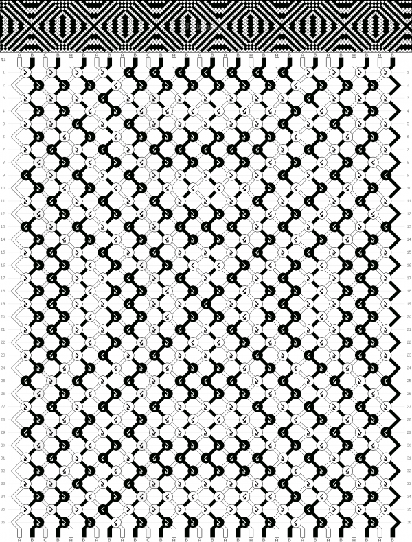 Схема фенечки 35199