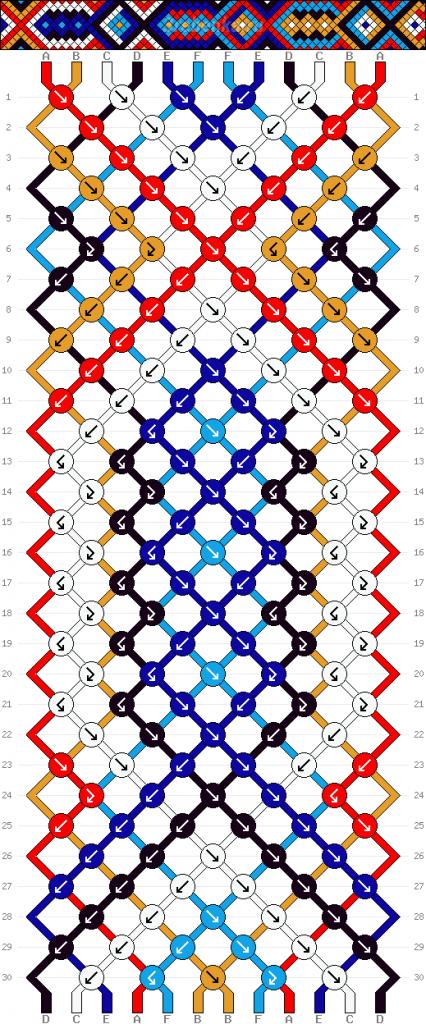 Схема фенечки 35203