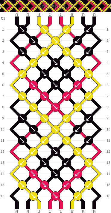 Схема фенечки 35211