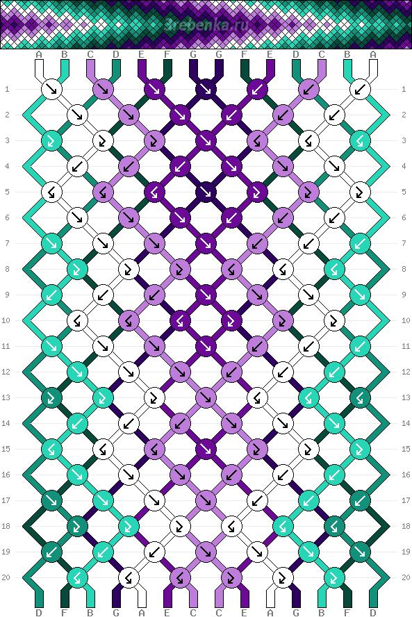 Схема фенечки 35219