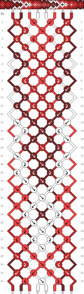 Схема фенечки 35227