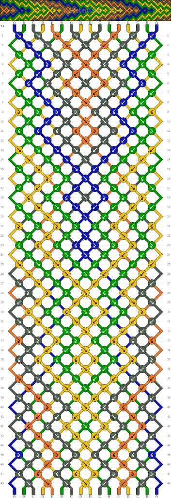 Схема фенечки 35231