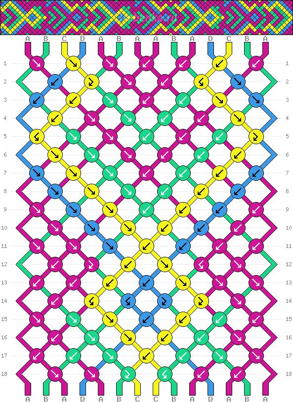 Схема фенечки 35339